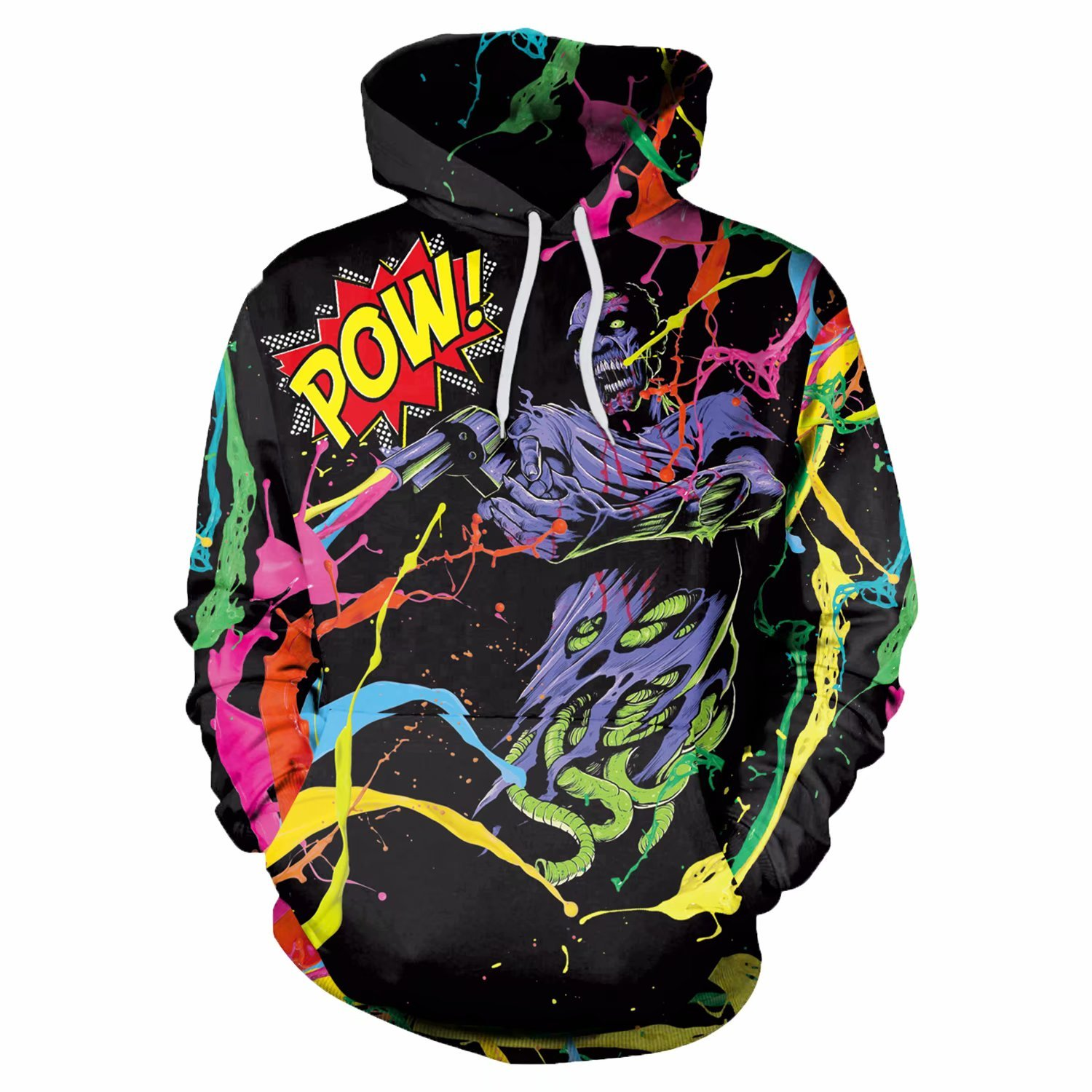 f3aa4d822 3D Graphic Hoodies Devil | You Look Ugly Today