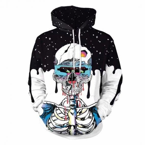 Awesome Sweatshirts Skeleton