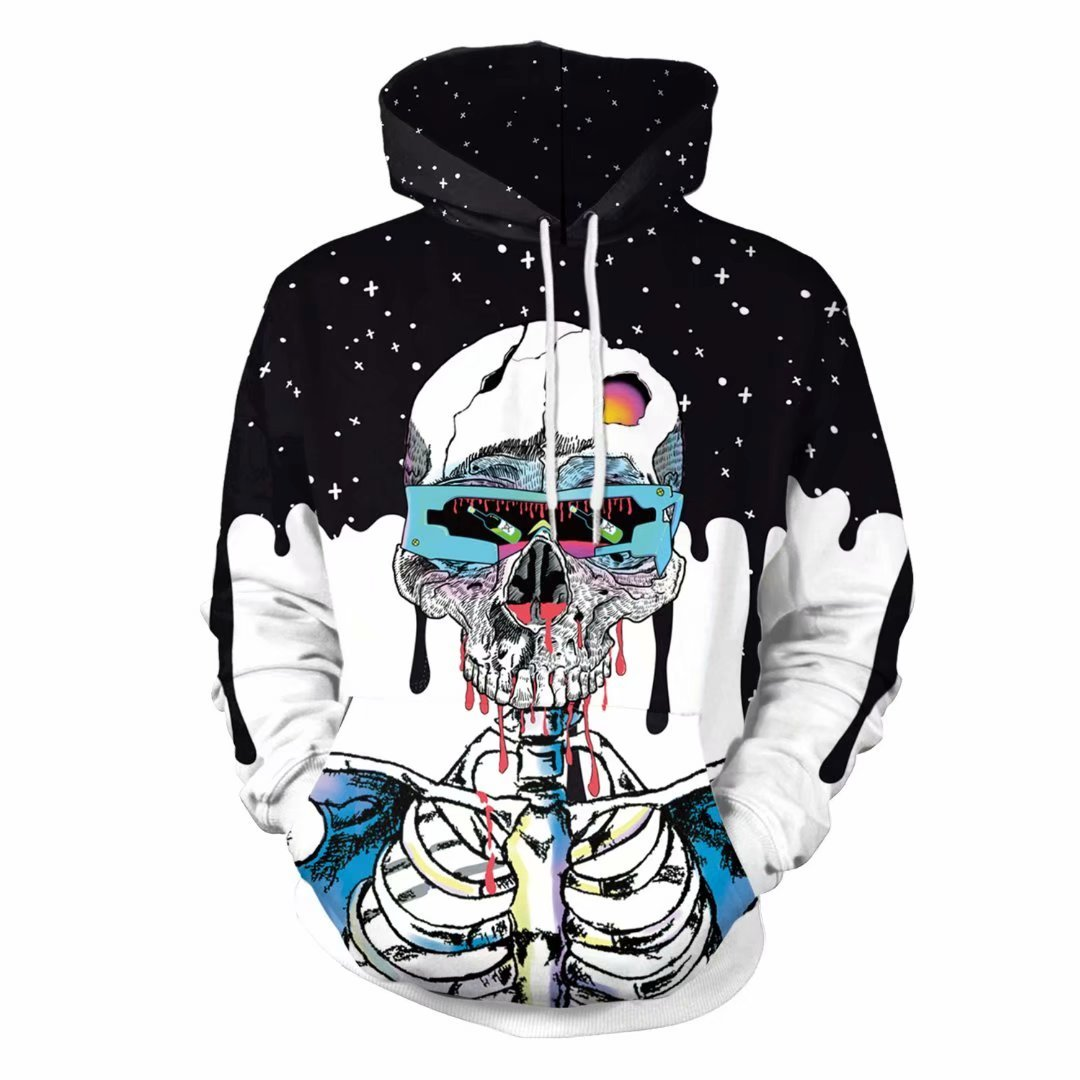 ccf3e88d6 Awesome Sweatshirts Skeleton | You Look Ugly Today