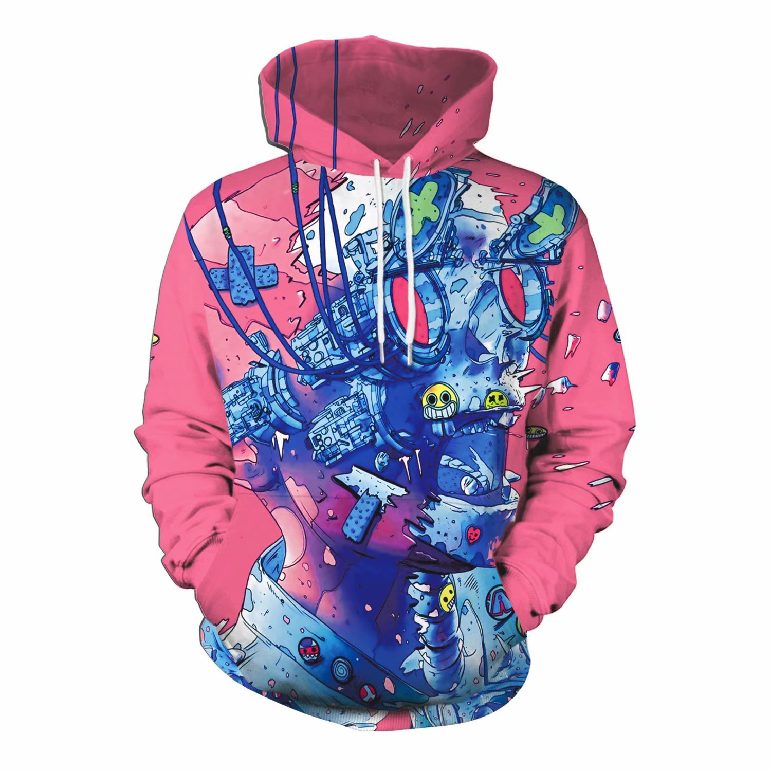 4741e7a9d Cool Hoodies for Guys with 3D Graphics | You Look Ugly Today