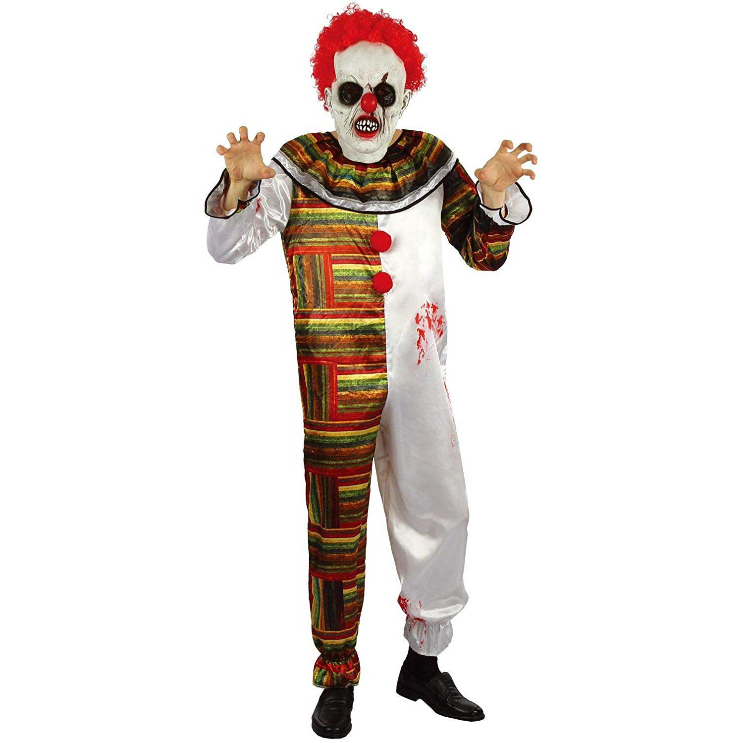 easy mens halloween costumes creepy clown | you look ugly today