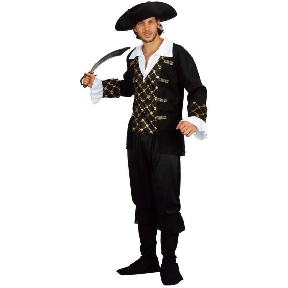 Pirate Halloween Costume for Men
