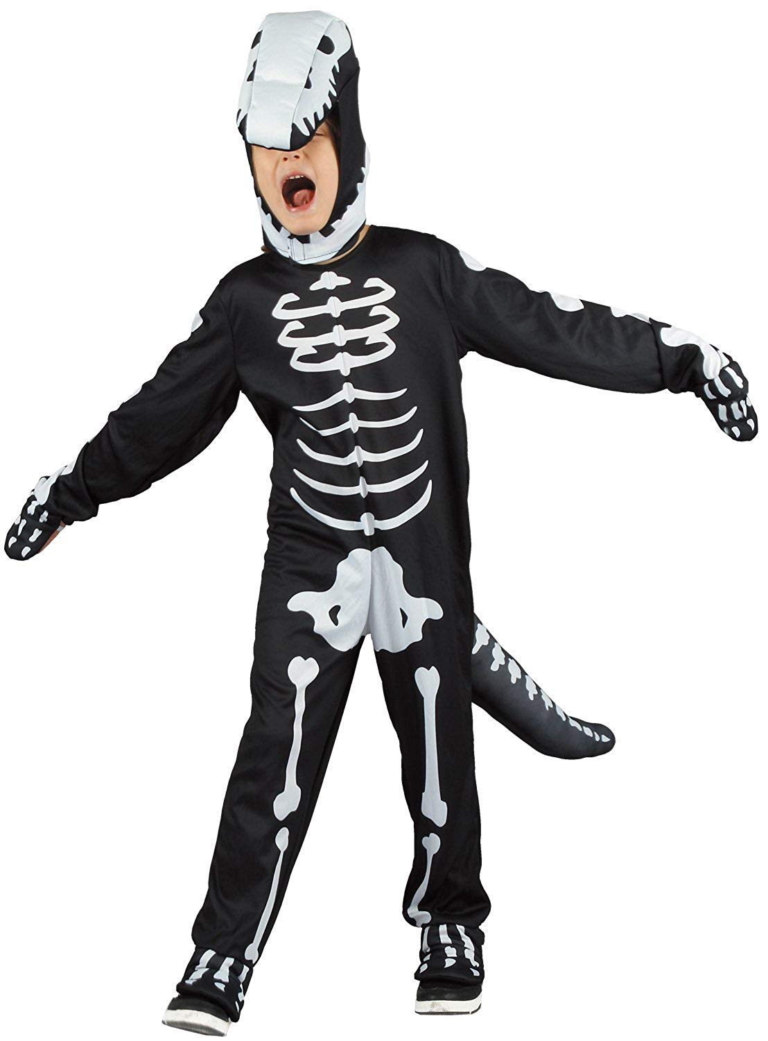 scary skeleton halloween costume for kids | you look ugly today