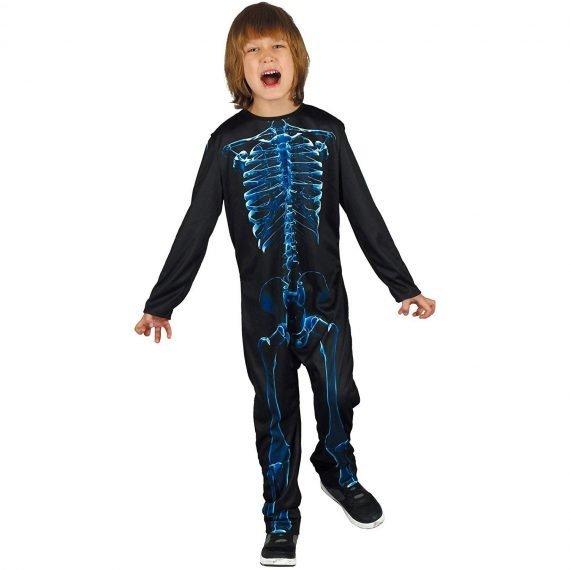 Boys Retro X Ray Skeleton Jumpsuit