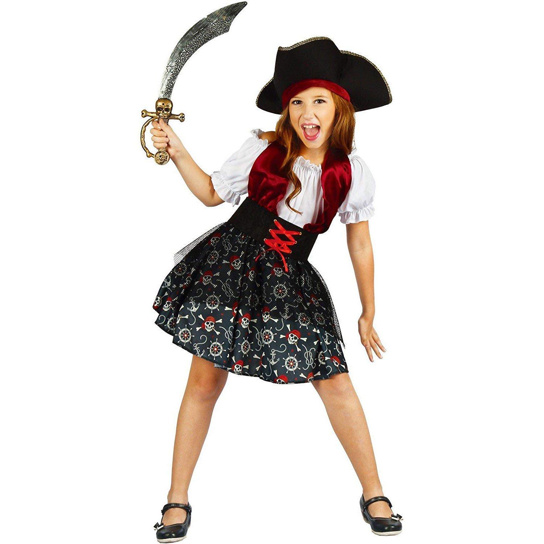girls pirate halloween costume 2018 | pirate costume kids | you look