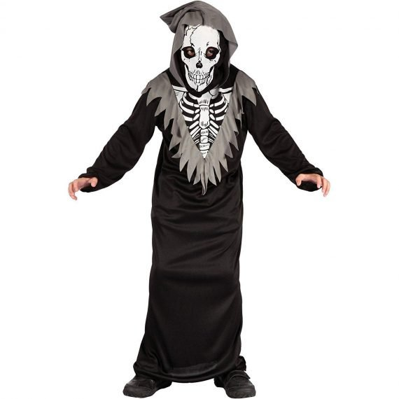 Scary Crazy Kids Devil Skeleton Halloween Costume