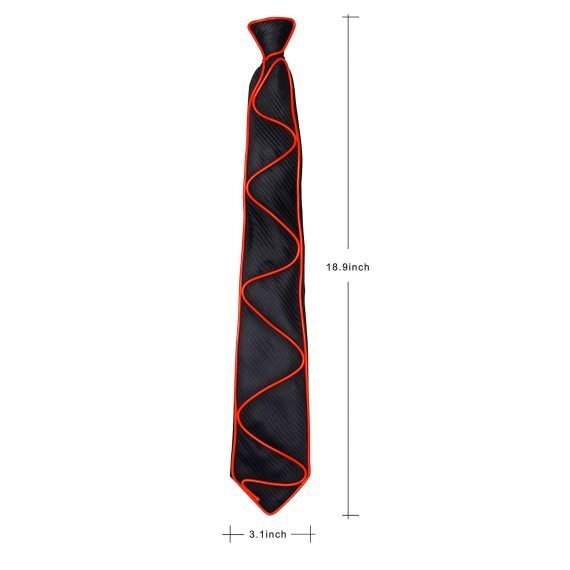 red-led-glow-tie-size
