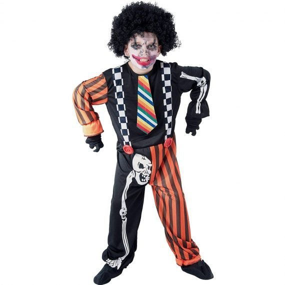 Scary Clown Halloween Costumes for Kids Boys