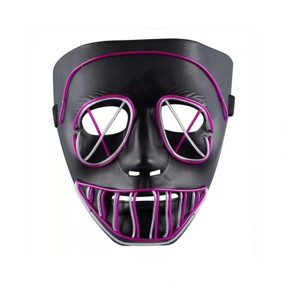 Scary Face Light up Halloween Mask