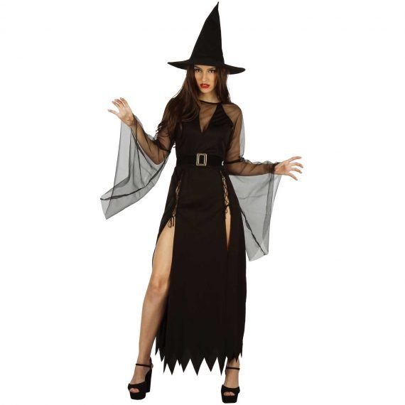 Sexy Witch Halloween Holiday Costume for Women