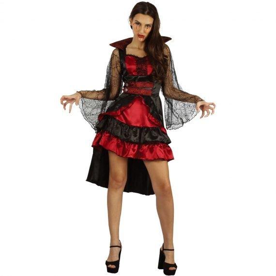 Vampiress Vixen Crazy Scary Halloween Holiday Costume