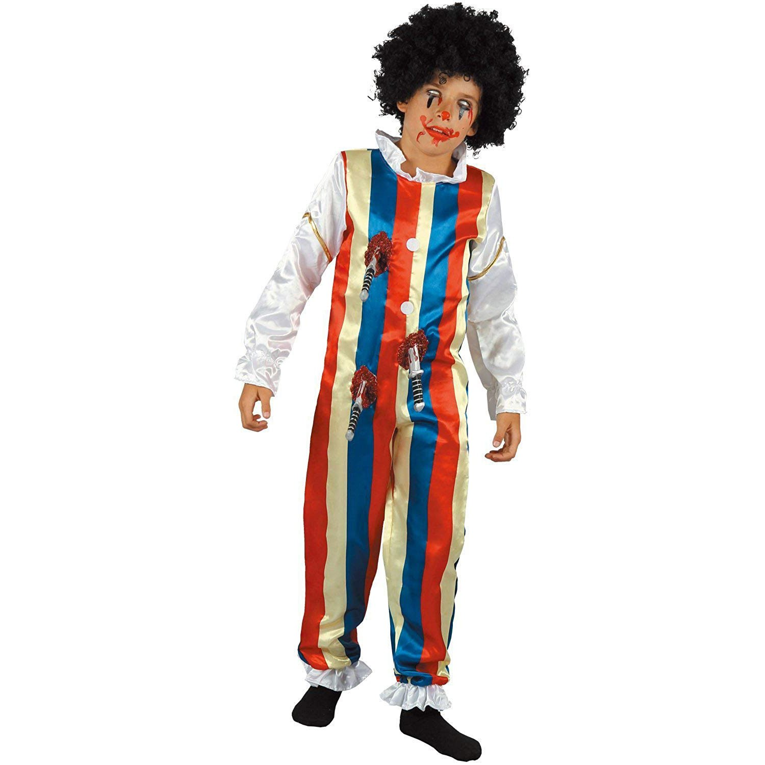 2018 Scary Zombie Clown Costume For Kids For Kids You Look Ugly Today