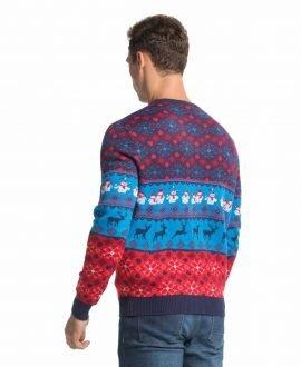 mens christmas sweaterss cool classic fair isle front - Classic Christmas Sweaters