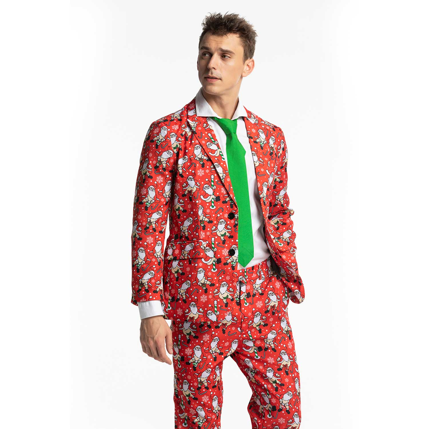 Christmas Suit.Ugly Rude Naked Santa Men S Christmas Suits