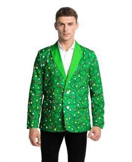 Mens Christmas Blazer You Look Ugly Today