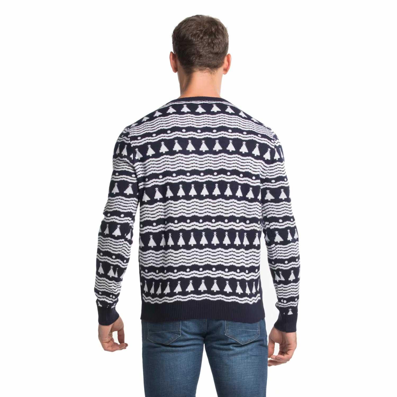 Rude Reindeer Romping Men\'s Christmas Sweater