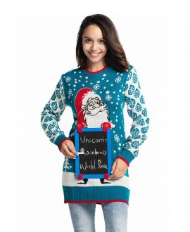 7c0a357d30c Christmas Tunic   Womens Christmas Tunic   You Look Ugly Today