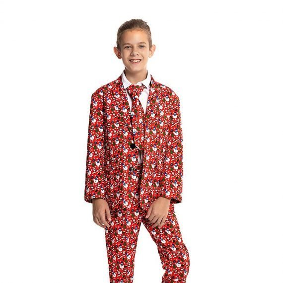 Funny Snowman Kids Christmas Suit