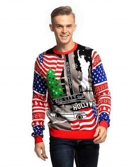 a9007fb8c Men's Funny Christmas Sweater that Screams Festive Loud