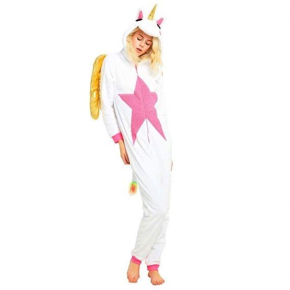 golden-wing-unicorn-animal-onesies-pajamas