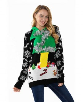3612c667 Women's Ugly Christmas Sweater a Great Fit That Sits Well