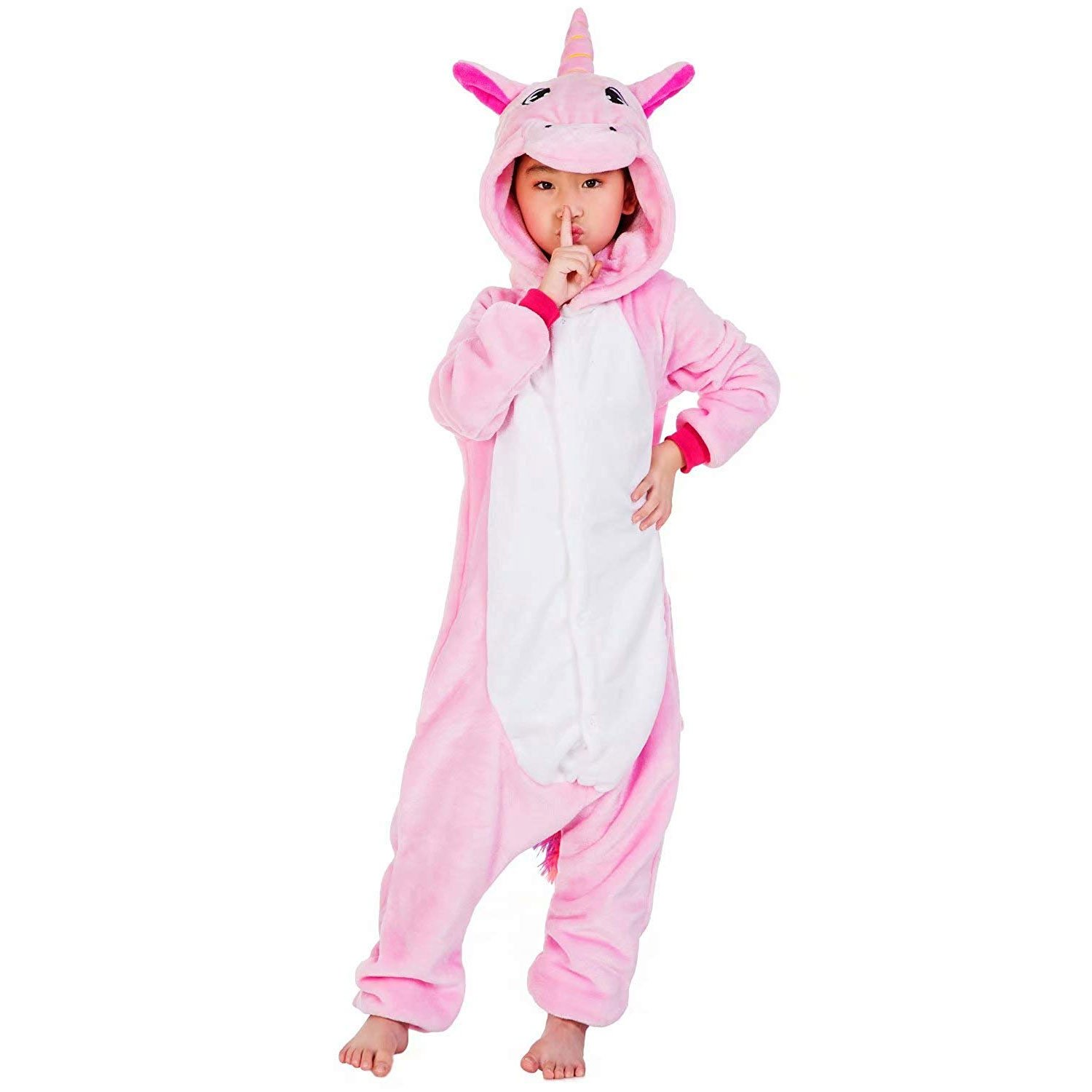 Pink Unicorn Animal Onesies Pajamas for Kids  54a8e9ed8f99