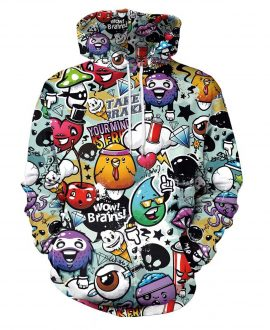 1e9f8760d Rock a Cool Casual Look in Our Awesome 3D Printed Hoodies