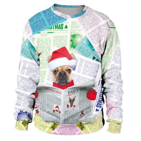 Christmas Dog 3D Printed Sweatshirts