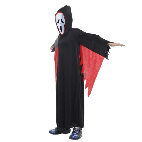 Creepy Ghost Halloween Holiday Outfit for Kids