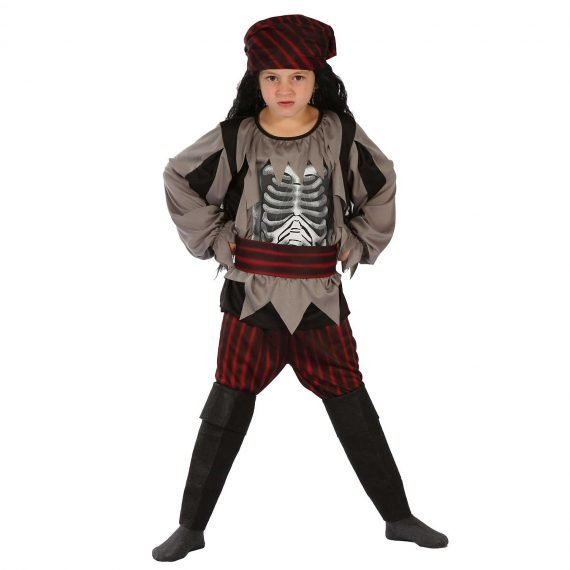 Ghost Pirate Halloween Costume for Kids Boys