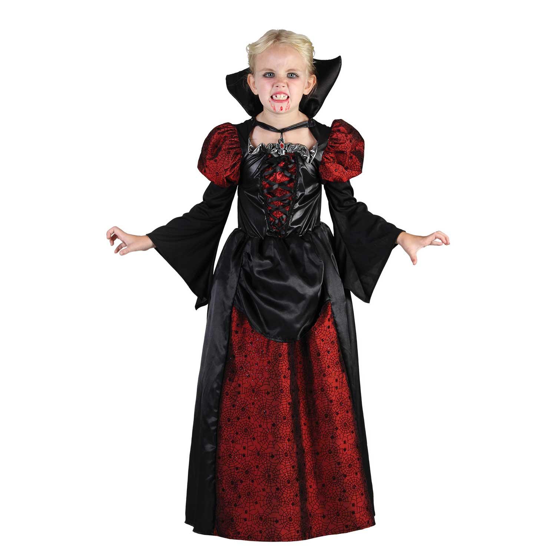 Kids Girl Scary Vampiress Halloween Dress