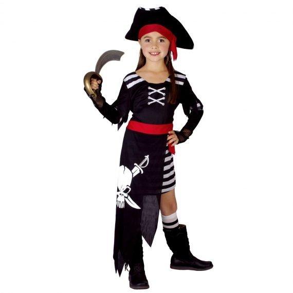 Pretty Pirate Kids Girl's Halloween Holiday Costume