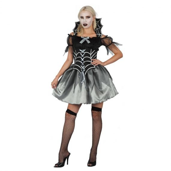 Sexy Spider Witch Halloween Holiday Outfit for Women