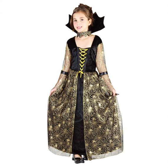 Spiderella Halloween Holiday Outfit for Kids Girls