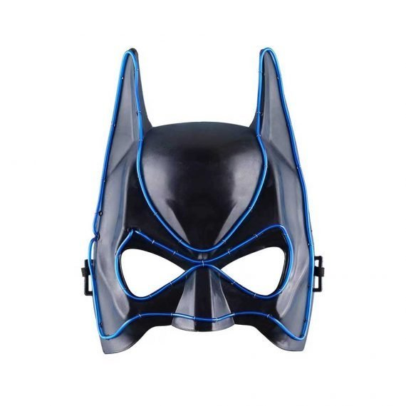 Bat Crazy Light Up Halloween Party Mask