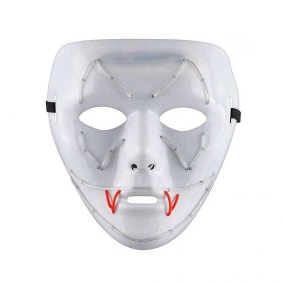 Bat Fang LED Halloween Scary Mask