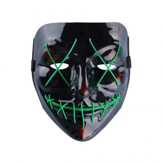 Creepy Crazy Monster Light Up Halloween Mask