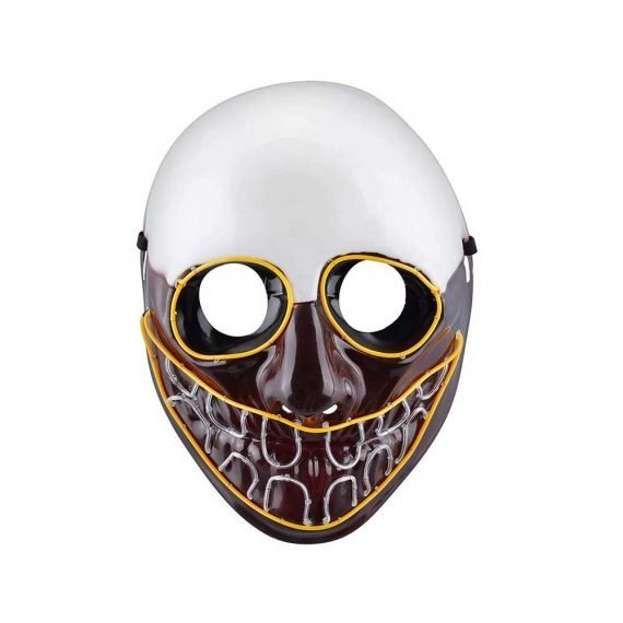 Creepy Smiler Halloween LED Face Mask