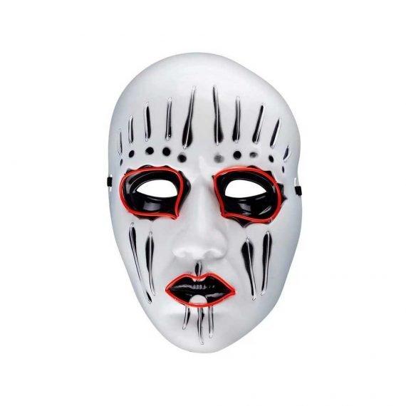 Retro Freaky Halloween Skull Light Up Mask
