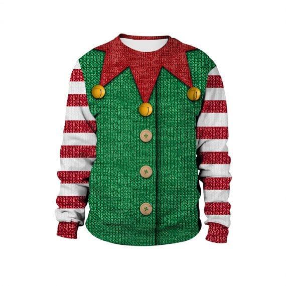 All the Elf You can Handle Ugly Christmas Sweatshirt