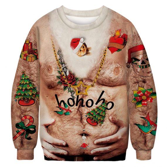 Jingle Beer Belly Ugly Christmas Sweatshirt