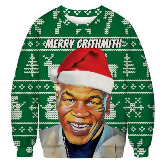 Total Tyson Ugly Christmas Sweatshirt