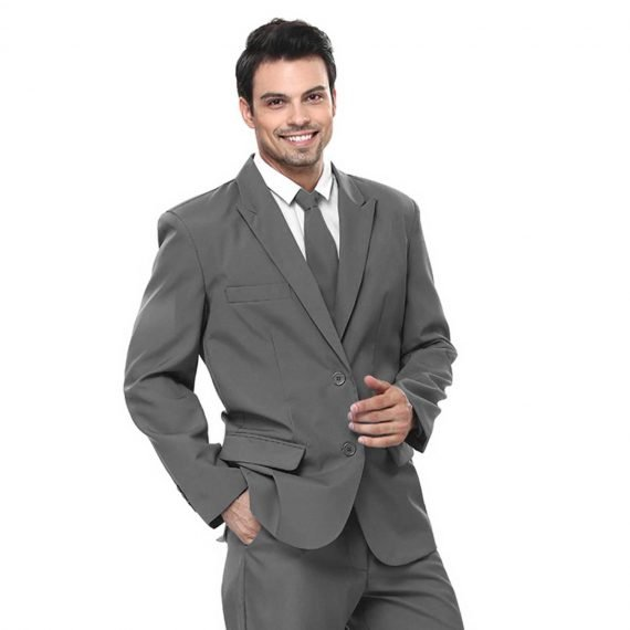 Fifty Shades of Trendy Grey Men's Party Suit