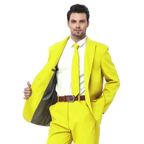 Mellow in Yellow Men's Party Suit