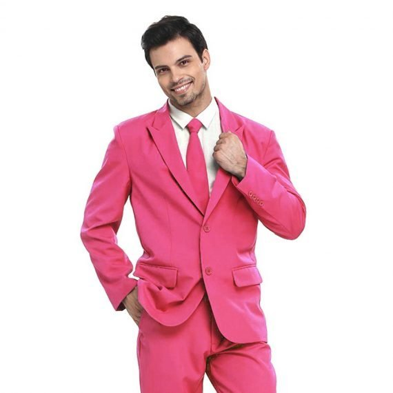 Real Men Wear Pink Party Suit
