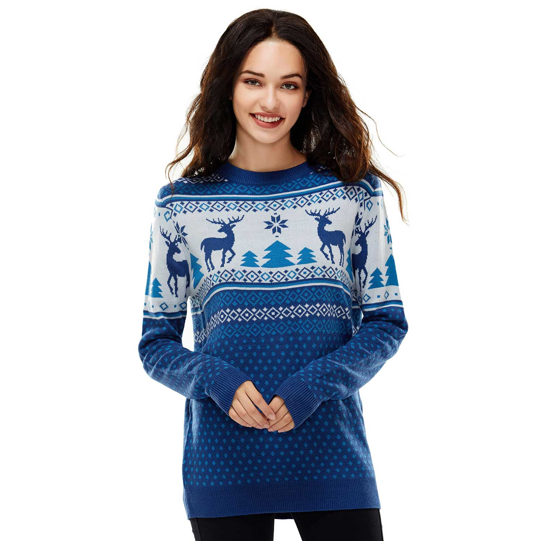 Blue Christmas Sweater
